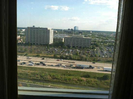 Renaissance Schaumburg Convention Center Hotel: View form the 16th Floor