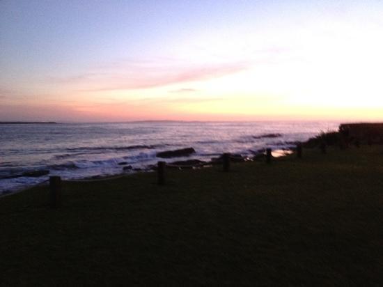 Spanish Point, ไอร์แลนด์: Il tuffo del Sole nell'oceano