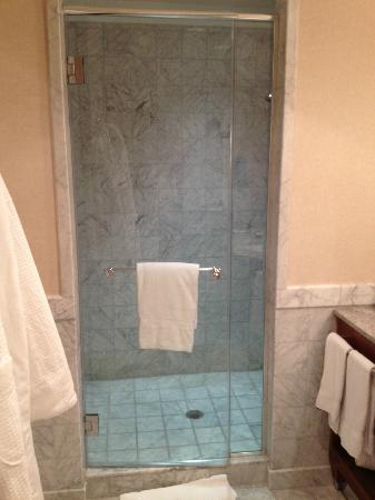Mandarin Oriental, Washington DC: Master Bath Shower Enclosure