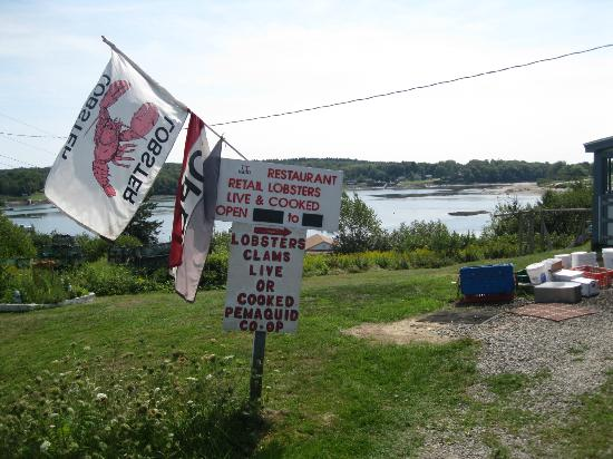 Pemaquid Fisherman's Co-Op: outside
