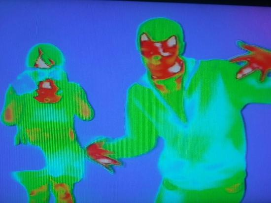 Heat camera! - Picture of Camera Obscura and World of Illusions ...