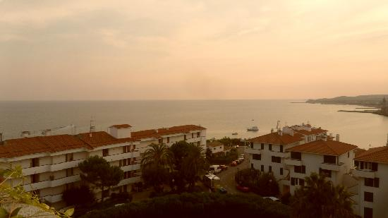 Melia Sitges: Sunset view from room 652