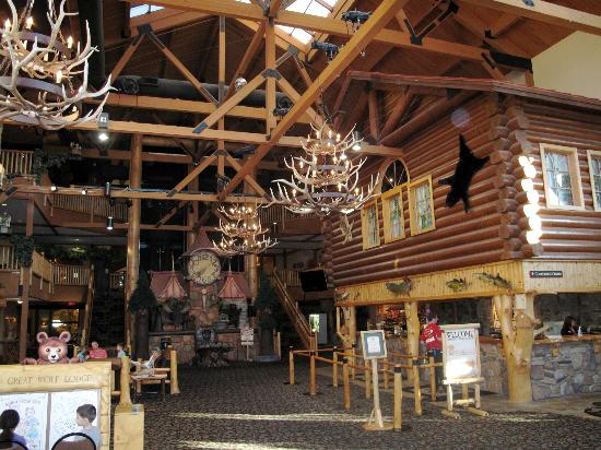 Great Wolf Lodge: Lobby