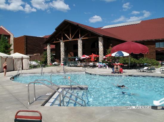 Great Wolf Lodge: Outdoor pool