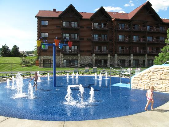 Great Wolf Lodge: Outdoor area