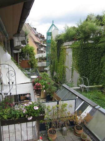Hotel Kreuzblume: The View From Room #8: non-street view
