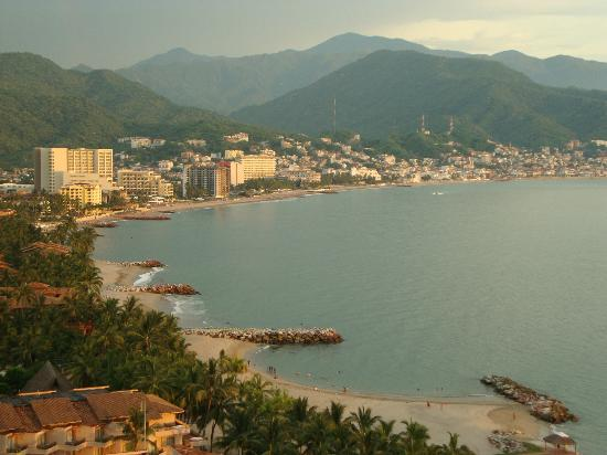 Sunscape Puerto Vallarta Resort & Spa: View over PV town from the Casa Linda condo in the HI