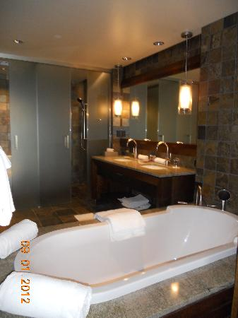 Primland: Blue Mtn Suite Bathroom