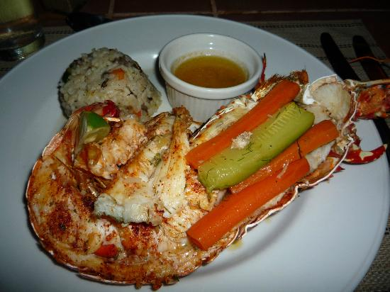 Cocobay Resort : lobster!!!