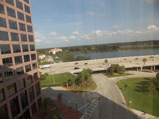DoubleTree by Hilton Orlando Downtown: vista da janela