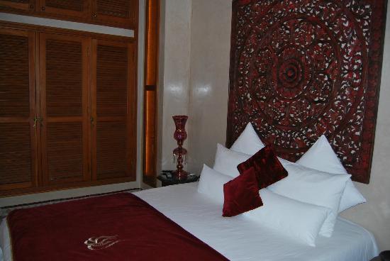 Riad Flam: Dormitorio