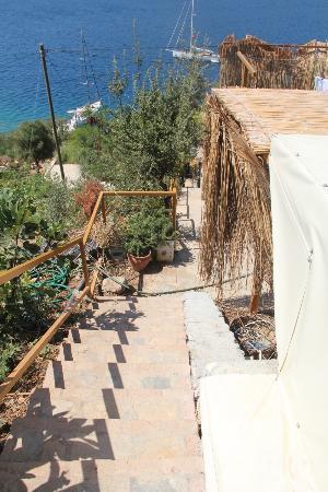 Karia Bel' Hotel & Restaurant: stairs 