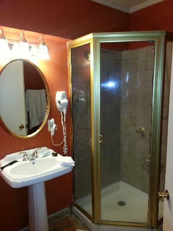 Villa Royale Inn: bathroom was a bit tiny