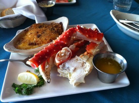 King Crab Picture Of Sea Ranch Restaurant Bar South Padre