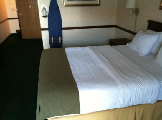 Holiday Inn Express St. Ignace: basic room