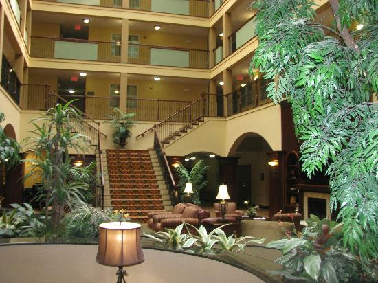 Country Inn & Suites by Radisson, Athens, GA: Looking down on the lobby