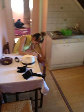 Nives Racic's Apartments: Laughing in the kitchen