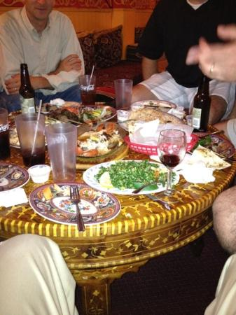 Ali Baba : a lot of food