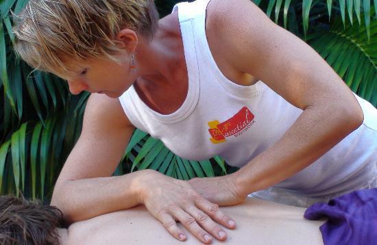 Essential Bodywork: Kimberlee at work