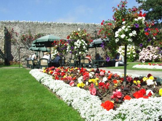 Clock Tower Tearooms: Beautiful Gardens