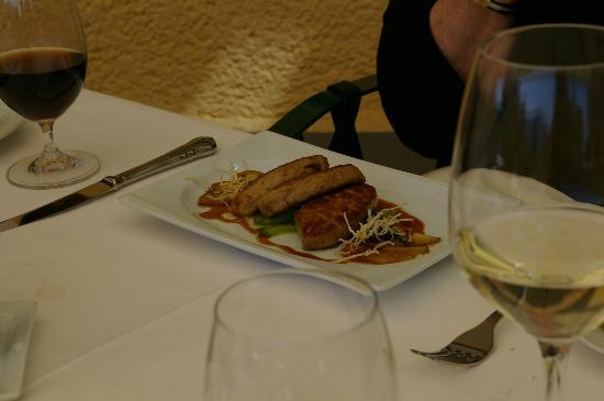 Seehotel Restaurant Lackner: Foie Gras