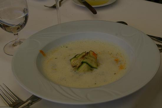 Seehotel Restaurant Lackner: Soup