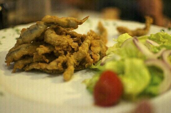 Restaurante La Cocina: Boquerones en tempura