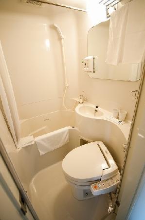 Super Hotel Kushiro: バスルーム