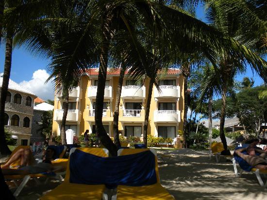 Viva Wyndham Dominicus Palace: les chambres face à la mer