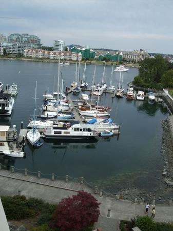 Coast Victoria Harbourside Hotel & Marina: 客室からの眺め