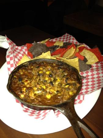 Whiskey's Food and Spirits: vomit and chips