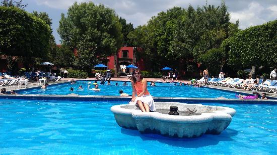 Fiesta Americana Hacienda Galindo: El área de la alberca y chapoteadero