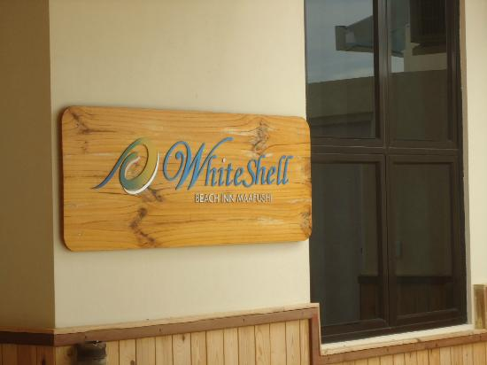 WhiteShell Beach Inn: the fantastic White Shell Beach Inn