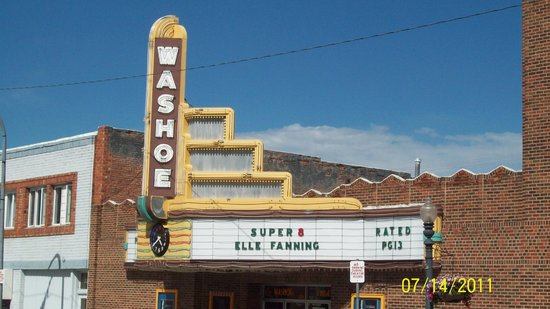 Anaconda, MT: The Washoe Theater in July 2011