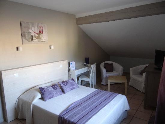 Hotel L'Herbier d Orange : Chambre 16 (2)