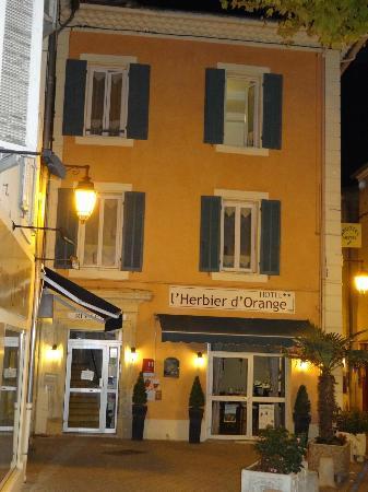 Hotel L'Herbier d Orange : Entrée..