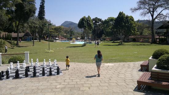 Hotel Village Le Canton: Pátio