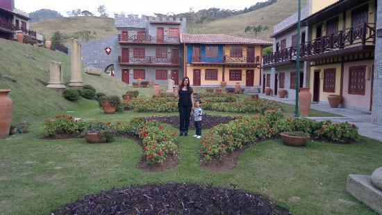 Hotel Village Le Canton: Área nova
