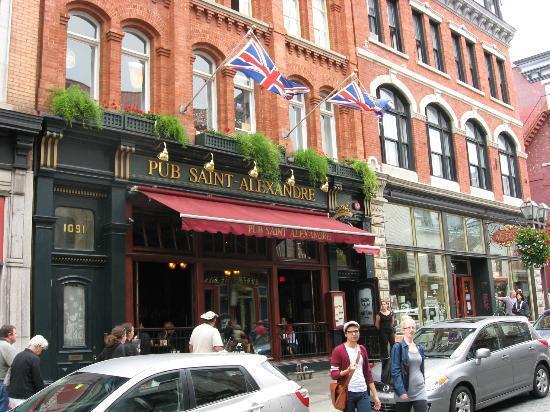 Pub Saint-Alexandre, Quebec City
