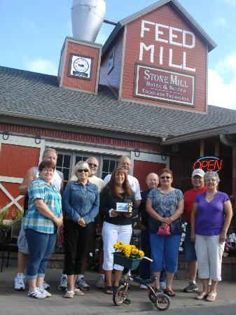 Stone Mill Hotel & Suites: Friends on our 11th Annual Biking Weekend