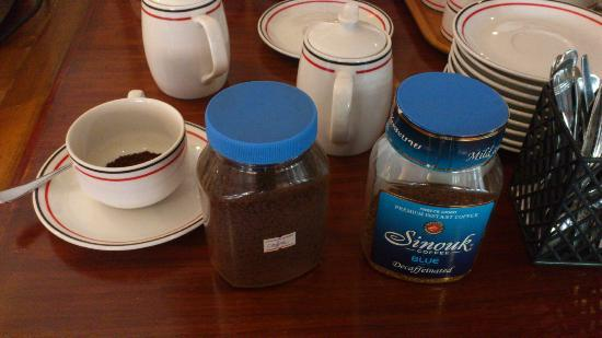 BEST WESTERN Vientiane Hotel: instant coffee for breakfast