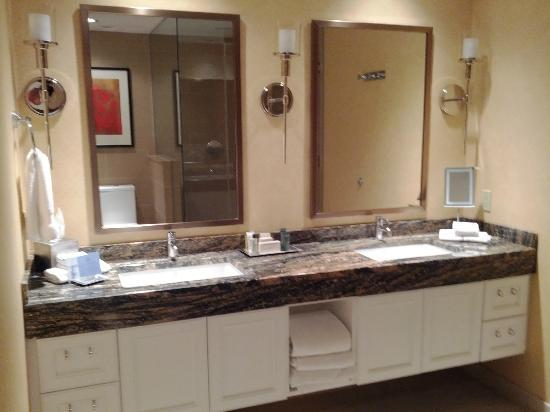 Hilton Omaha: The Master Bathroom