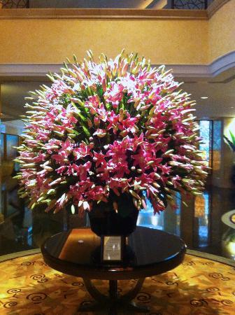 Flowers In The Foyer Picture Of Shangri La Hotel Kuala
