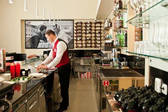 Segafredo Zanetti Espresso Dushanbe : Barista