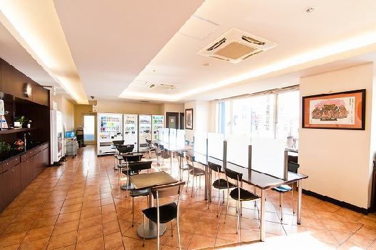 Super Hotel Hachinohe : 朝食コーナー