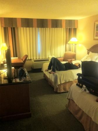 Holiday Inn Buena Park Hotel & Conference  Center : clean & spacious
