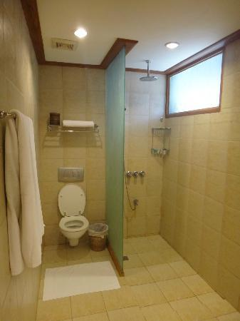 Friday's Boracay: bathroom - functional and clean