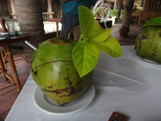 Fridays Boracay Resort: Coconut cocktails are a must!
