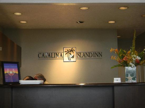Catalina Island Inn: Front Lobby