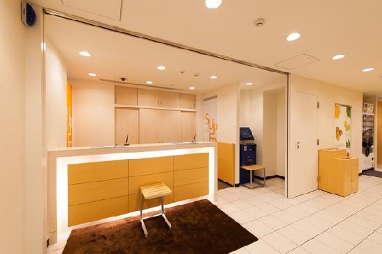 Super Hotel Tokyo Nihonbashi Mitsukoshi Mae : ロビー